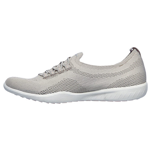Skechers Ladies Trainers - 100033 - Taupe