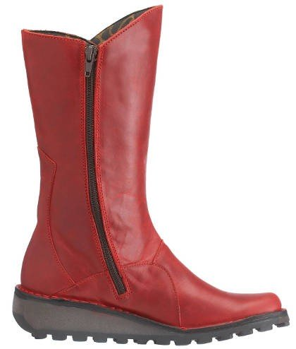 Fly London Mid Boots  - Mes 2  - Red