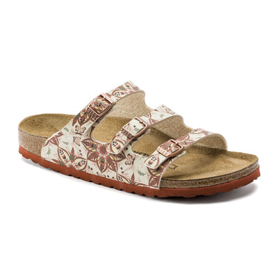 Birkenstock  Flat Sandals - Florida - Red