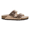 Birkenstock Flat Sandals - Arizona Gator - Gold