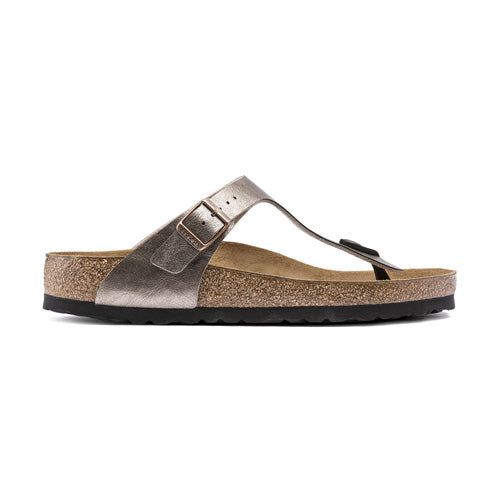 Birkenstock Flat  Sandals - Gizeh - Taupe