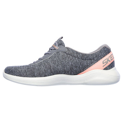 Skechers Ladies Trainers - 104051 - Grey