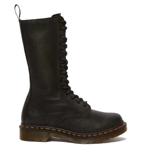Dr Martens 14 Eye Boots - 1B99 - Black Soft Leather
