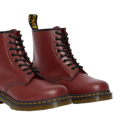 Dr. Martens Leather 8 Eye Boots - 1460 - Cherry Red