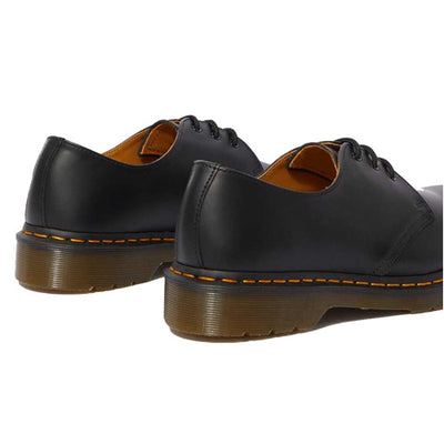 Dr Martens 3 Eyelet Shoes - 1461Z - Black Smooth Leather