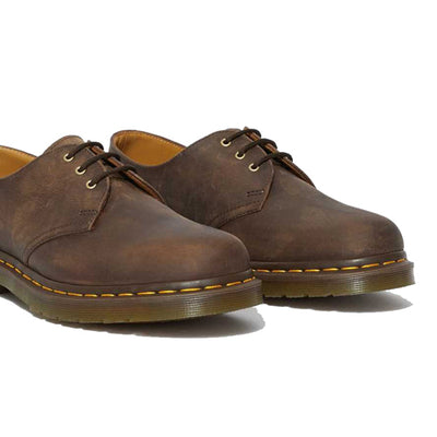 Dr Martens 3 Eyelet Shoes - 1461Z - Brown