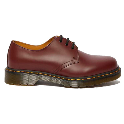 Dr Martens 3 Eyelet Shoes - 1461Z  - Cherry Red