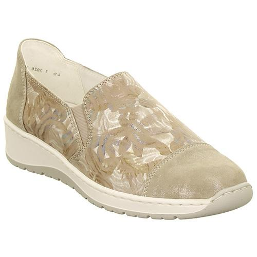 Ara Low Wedges  - 17632 - Taupe