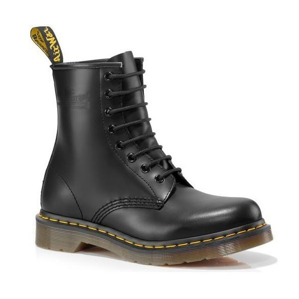 DR.MARTENS LEATHER 8 EYE BOOT [1460]