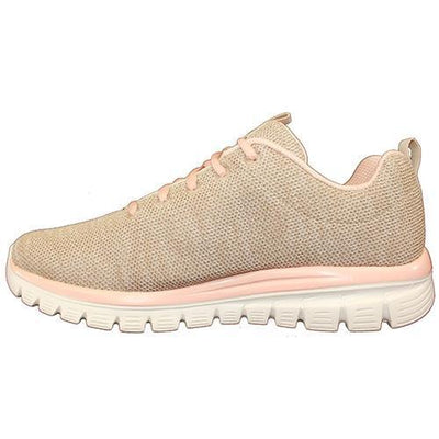 Skechers Trainers  - 12614 - Beige