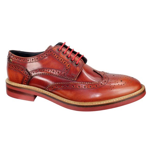 Base London Brogues - Woburn - Tan