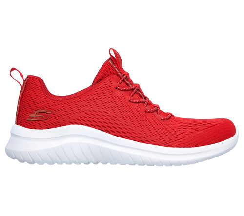 Skechers Ladies Trainer - 13350 - Red