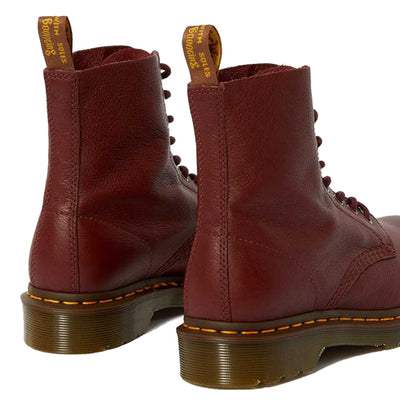 Dr Martens 8 Eye Boots  - Pascal 1460 - Cherry Red