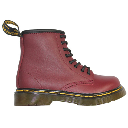 Dr Martens Kids Ankle Boots - 1460J - Cherry Red
