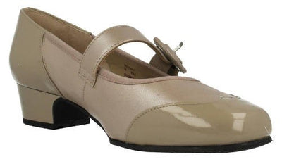 Equity - Honey - Black - Wide Fit Court Shoes