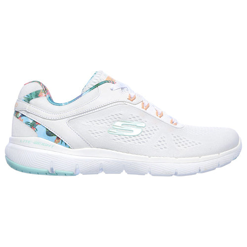 Skechers Ladiees Trainers - 149002 - White