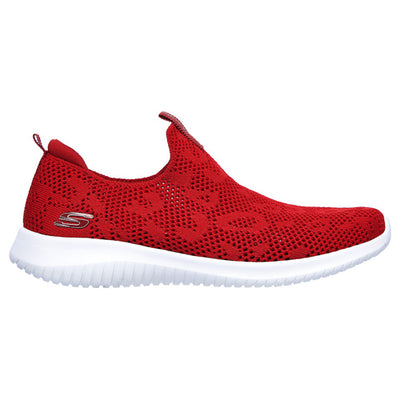 Skechers Ladies Trainers - 149009 - Red