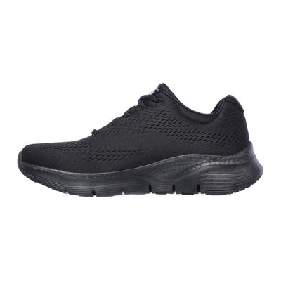 Skechers Arch Fit Walking Trainers - 149057 -  Black/Black