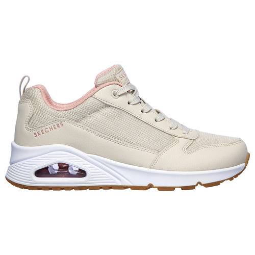 Skechers Ladies Trainer - 155005 -  Beige
