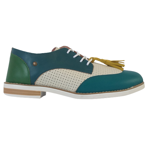 Kate Appleby Brogues - Tortola - Blue/White