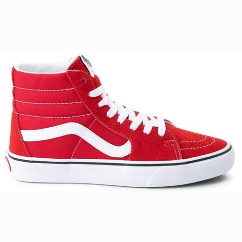 Vans Hi Top Sneakers  - Sk8 Hi Reissue - Red