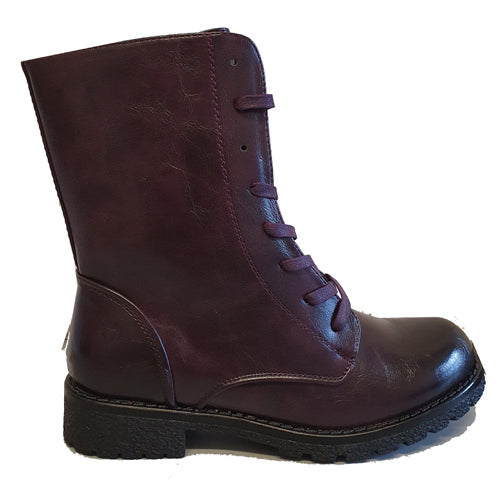 Heavenly Feet  Mid Boots - Chloe - Purple
