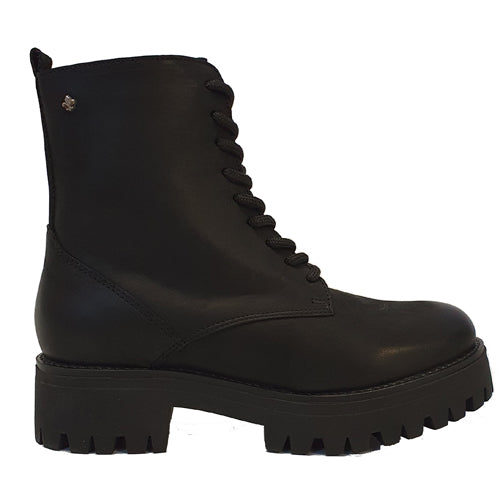 Amy Huberman Platform Boots - Brooklyn - Black