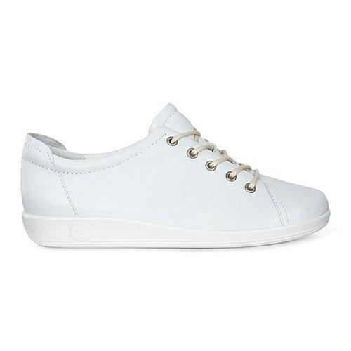 Ecco Ladies Walking Shoes - 206503 - White