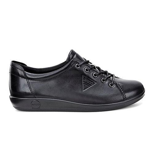Ecco Ladies Walking Shoe - 206503 - Black/Black