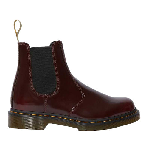 Dr. Martens Vegan Chelsea Boot - 2976 - Cherry Red