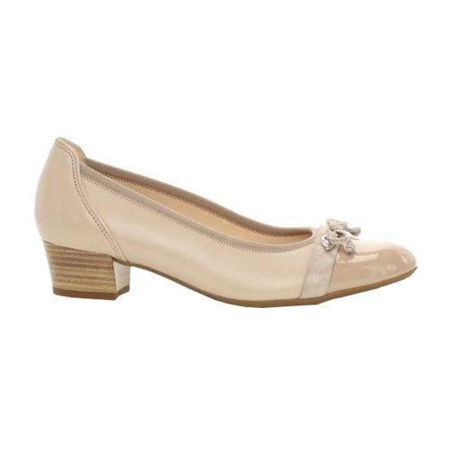 Gabor Court Shoes - 22.205 Hayley  - Nude