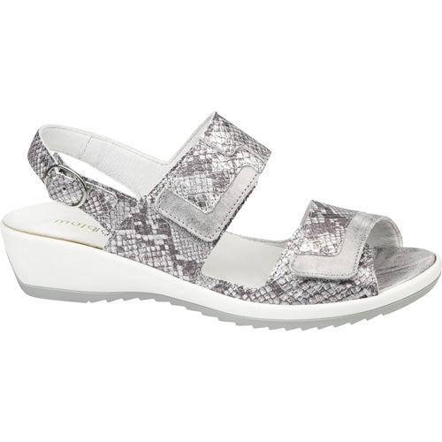 Waldlaufer Sandal Wide Fit - 225017 - Silver