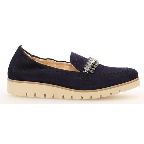 Gabor   Low Wedge Loafer - 23.272 - Navy
