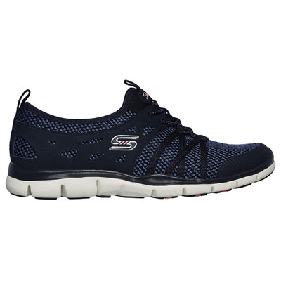 Skechers Ladies Trainers - 23360 - Navy