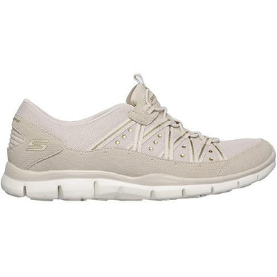 Skechers Trainers -  23363  Dreaminess   - Beige