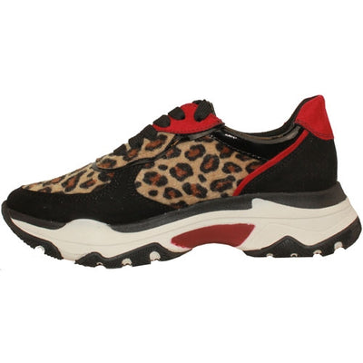 Marco Tozzi Trainers - 23746-33 - Black Leopard