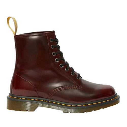 Dr. Martens Vegan 8 Eye Boot - 1460 - Cherry Red