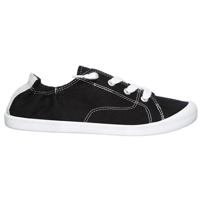 Skechers Canvas Trainers - 31963 - Black