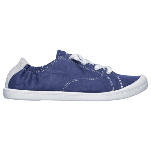 Skechers Canvas Trainers - 31963 - Navy