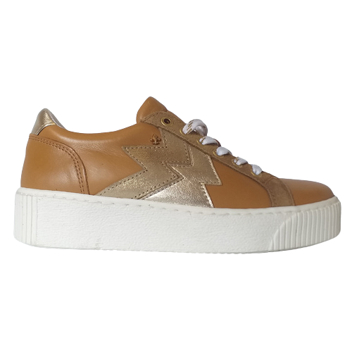 Amy Huberman Platform Trainers - Only You - Tan