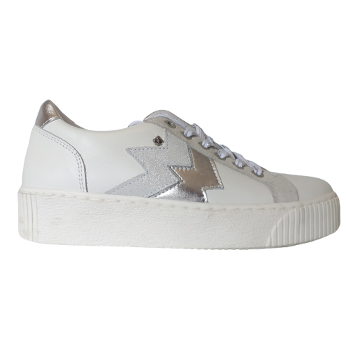 Amy Huberman Platform Trainers - Only You - White