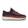 Ecco Mans Casual Shoe - 460674 - Tan Navy