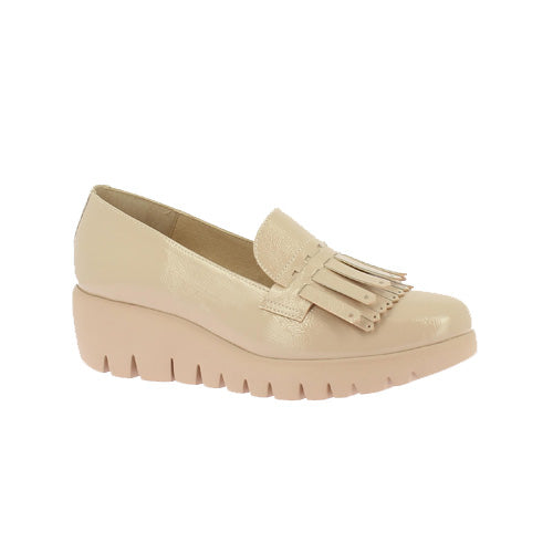 Wonders Wedge Shoe - C-33207 - Nude