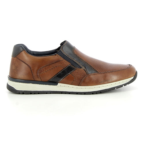 Rieker Mans Shoe - B5160-25 - Brown