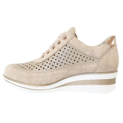 Redz Wedge Trainers - 6G2060 - Beige