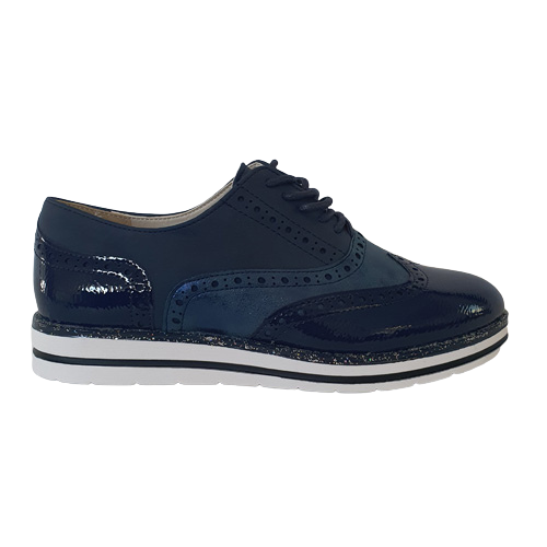Redz  Brogues - 10K01 - Navy