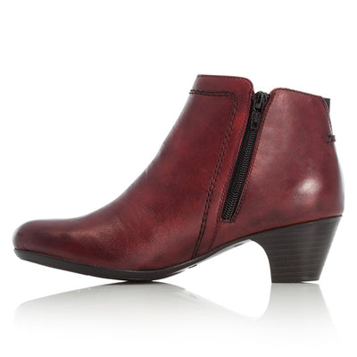 Rieker  Ankle Boots - 70551 - Burgundy
