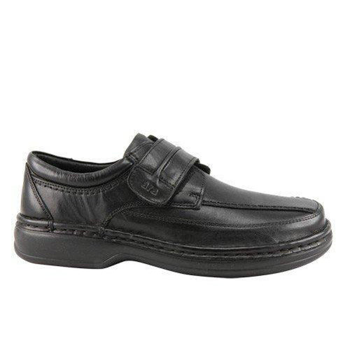 Ara Wide Fit  Men's Velcro Shoes - 17101 - Black