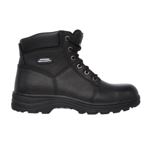 Skechers Work Boots - 77009 - Black