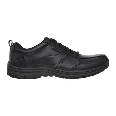 Skechers Work Relaxed Fit Shoes  - 77036EC - Black